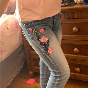 DESIGUAL European girls jeans SIZE 11/12